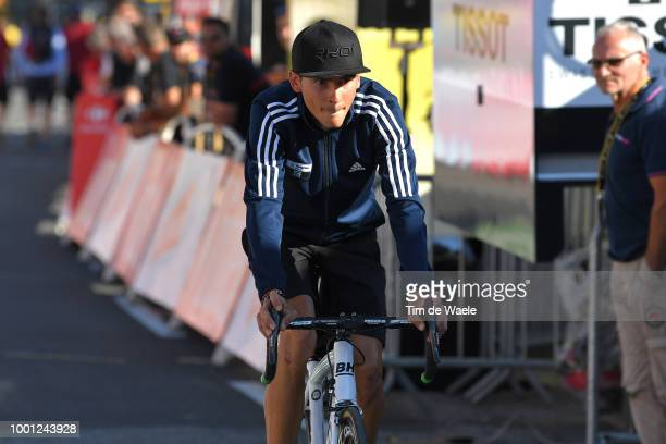 Warren Barguil of France and Team Fortuneo Samsic / during the 105th Tour de France 2018 Stage 11 a 1085km stage from Albertville to La Rosiere...