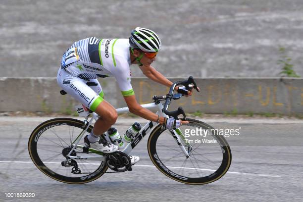 Warren Barguil of France and Team Fortuneo Samsic / during the 105th Tour de France 2018 Stage 12 a 1755km stage from BourgSaintMaurice Les Arcs to...