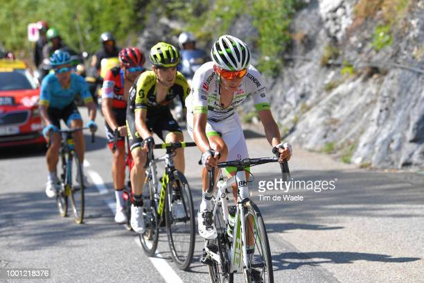 Warren Barguil of France and Team Fortuneo Samsic / Mikel Nieve of Spain and Team MitcheltonScott / during the 105th Tour de France 2018 Stage 11 a...