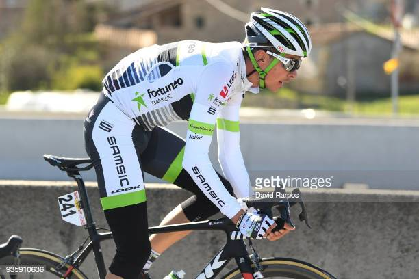 Warren Barguil of France and Team FortuneoSamsic / during the 98th Volta Ciclista a Catalunya 2018 Stage 3 a 153km stage from Sant Cugat Del Valles...