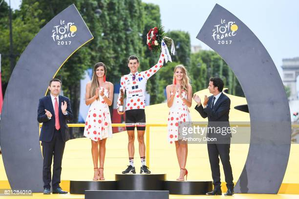 Warren Barguil of Sunweb during the stage 21 from Montgeron to Paris at Avenue Des Champs Elysees on July 23 2017 in Paris France