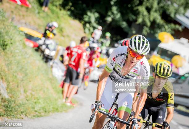Warren Barguil of team FORTUNEOSAMSIC during the stage 11 of the Tour de France 2018 on July 18 2018 in Albertville France