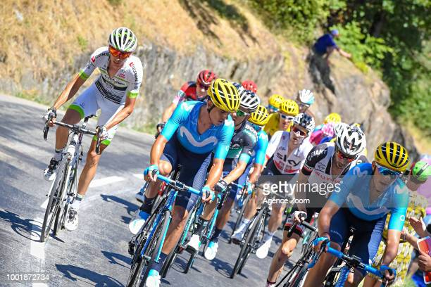 Warren Barguil of team FORTUNEOSAMSIC during the stage 12 of the Tour de France 2018 on July 19 2018 in Alpe d'Huez France