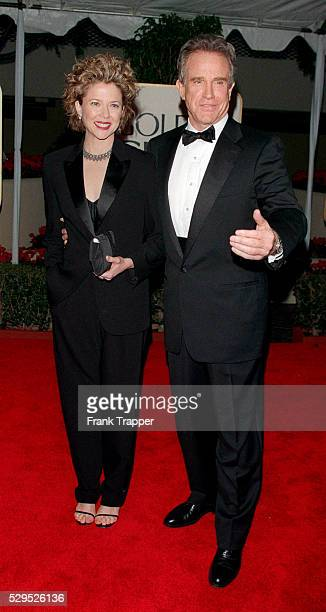 Warren Beatty and Annette Bening arrive