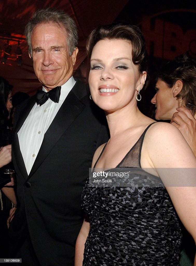 Warren Beatty and Debi Mazar during 58th Annual Primetime Emmy Awards - HBO After Party - Red Carpet and Inside at Pacific Design Center in West Hollywood, California, United States.