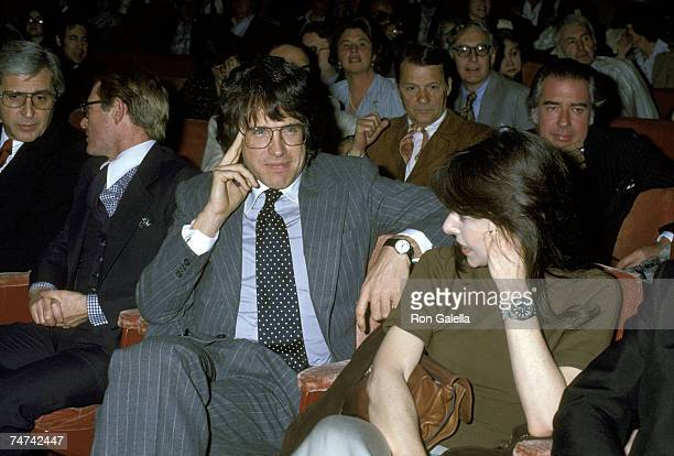 Warren Beatty and Elaine May at the Dorothy Chandler Pavillion in Los Angeles, California