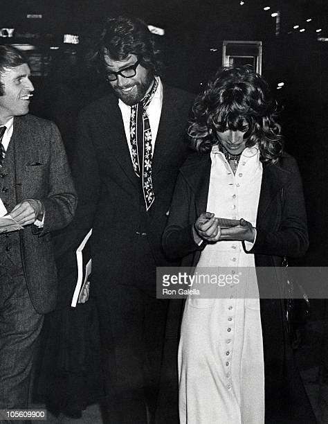 Warren Beatty and Julie Christie during Esquadrill Party May 5 1970 at WaldorfAstoria Hotel in New York City New York United States