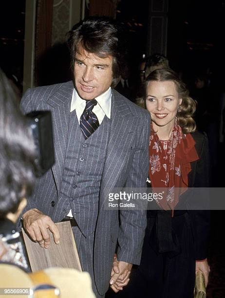 Warren Beatty and Michelle Phillips