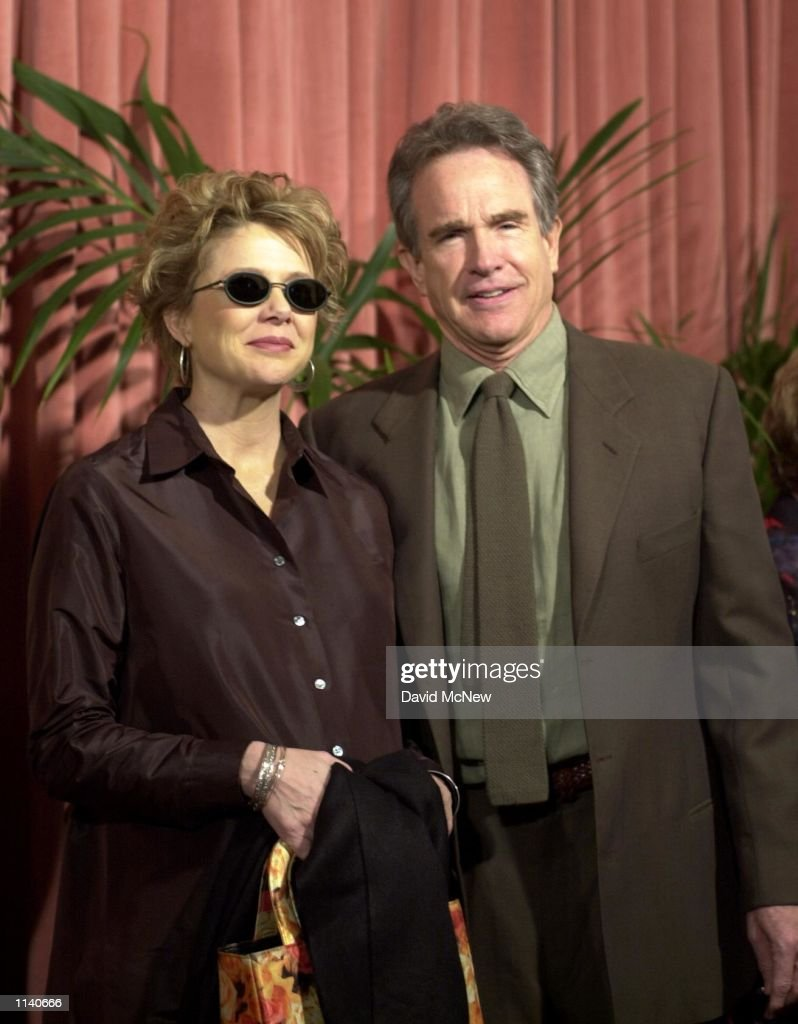 HILLS, CALIFORNIA - Warren Beatty and wife Annette Bening, who is an