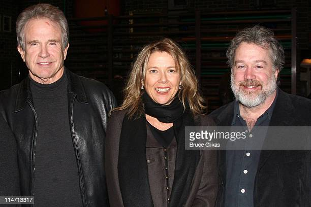 Warren Beatty Annette Bening and Tom Hulce producer *EXCLUSIVE*