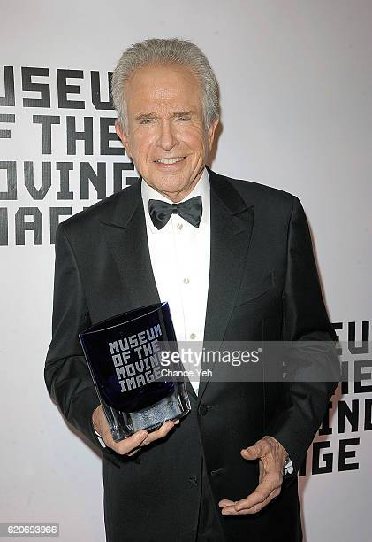 Warren Beatty arrives at 30th annual Museum Of The Moving Image Salute to Warren Beatty at 583 Park Avenue on November 2 2016 in New York City