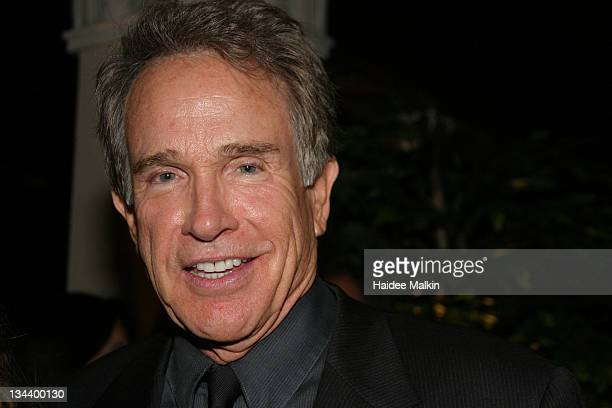 Warren Beatty during 2004 Toronto International Film Festival Opening Night Party at Liberty Grand in Toronto Canada