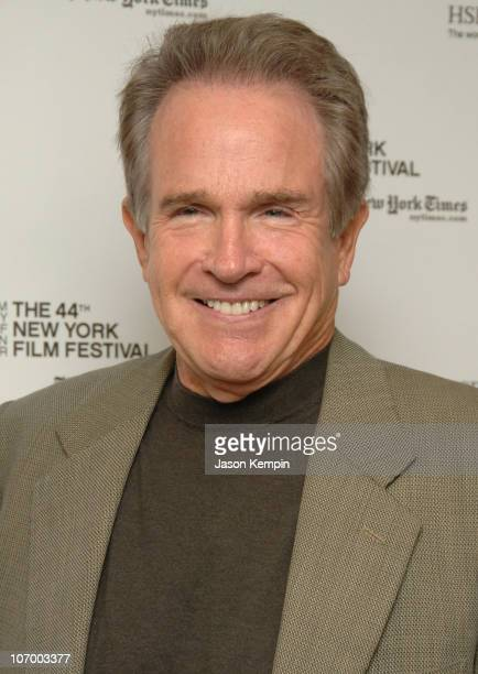 Warren Beatty during 44th New York Film Festival Press Conference For Reds With Warren Beatty October 3 2006 at Lincoln Center Alice Tully Hall in...