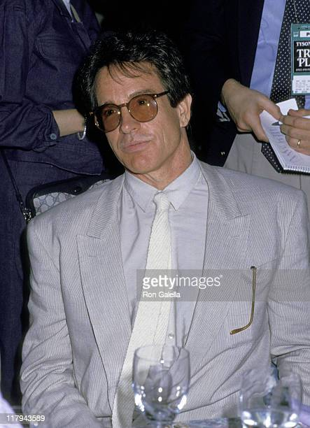 Warren Beatty during Mike Tyson vs Michael Spinks Fight at Trump Plaza June 27 1988 at Trump Plaza in Atlantic City New Jersey United States