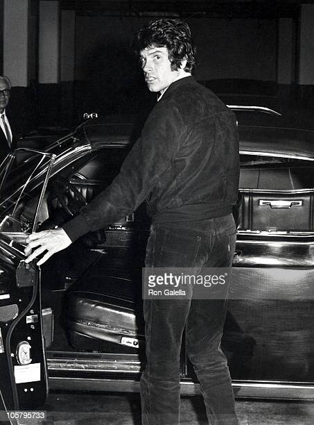 Warren Beatty during Warren Beatty Sighting April 19 1968 at Beverly Wilshire Hotel in Beverly Hills California United States