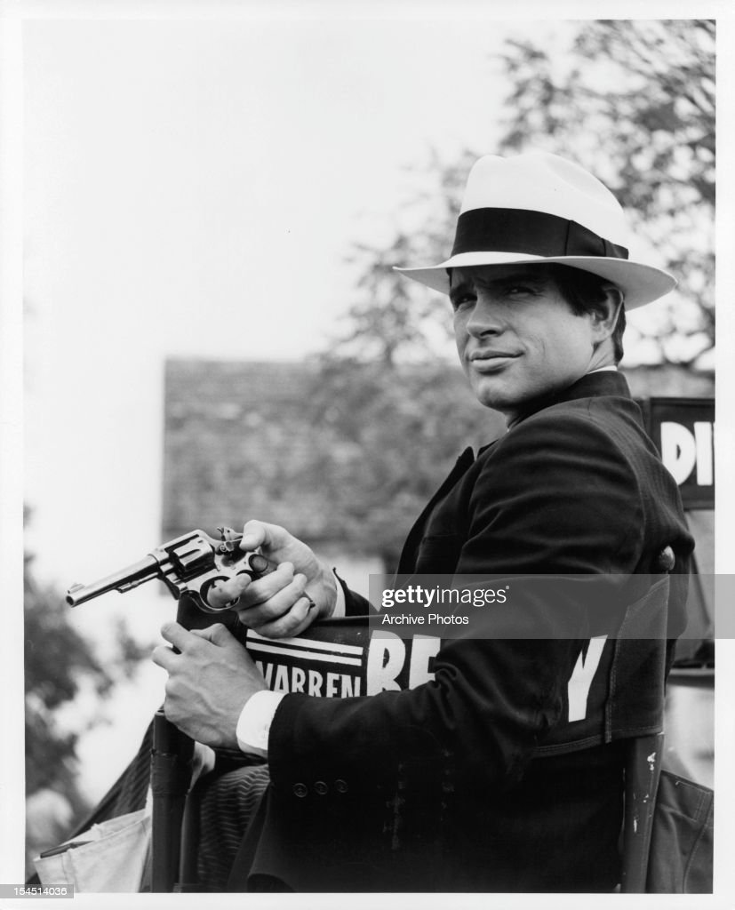 Warren Beatty In 'Bonnie And Clyde' : News Photo