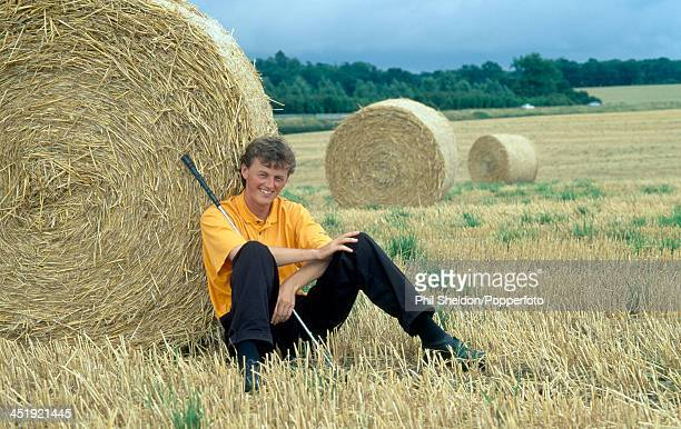 Warren Bennett of Great Britain prior to the Challenge Tour Golf Championship held at the East Sussex National Golf Club in Uckfield circa July 1998...