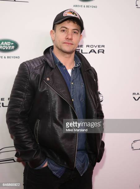 Warren Brown arrives at the launch of the New Range Rover Velar on March 1 2017 in London United Kingdom