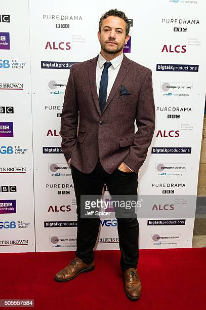 Warren Brown arrives at the Writers Guild Awards at RIBA on January 18 2016 in London England