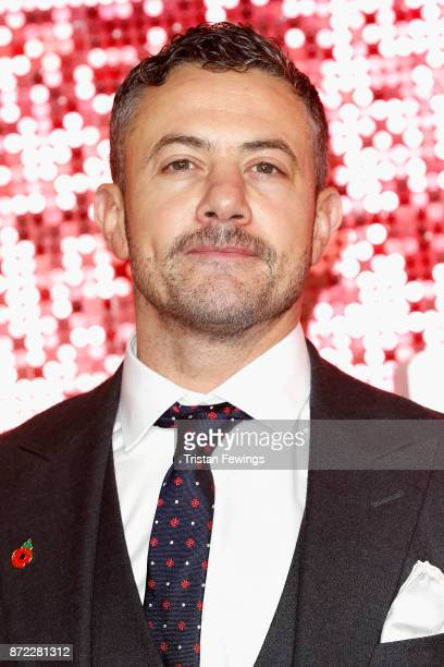 Warren Brown arriving at the ITV Gala held at the London Palladium on November 9 2017 in London England