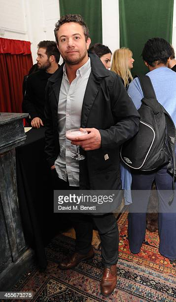 Warren Brown attends an after party celebrating the press night performance of 'The El Train' at The Hellhole Saloon in Hoxton Hall on December 12...