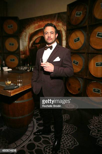 Warren Brown attends the Absolut ELYX and The Glenlivet Lounge At The Critics Choice Television Awards at The Beverly Hilton Hotel on June 19 2014 in...