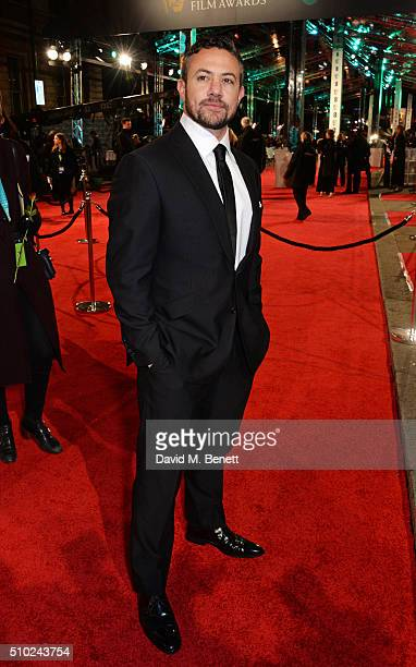 Warren Brown attends the EE British Academy Film Awards at The Royal Opera House on February 14 2016 in London England
