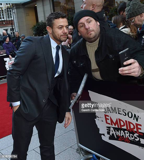 Warren Brown attends the Jameson Empire Awards 2016 at The Grosvenor House Hotel on March 20 2016 in London England