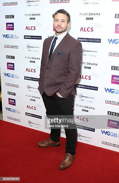 Warren Brown attends the Writers Guild Awards at RIBA on January 18 2016 in London England
