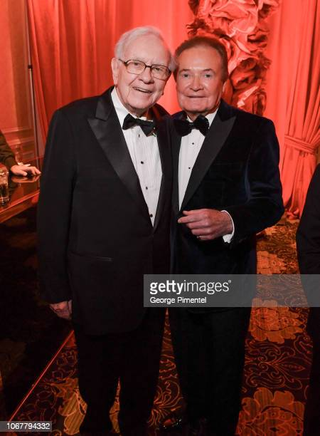 Warren Buffett and John Driscoll attends 2018 Canada's Walk Of Fame Awards held at Sony Centre for the Performing Arts on December 1 2018 in Toronto...