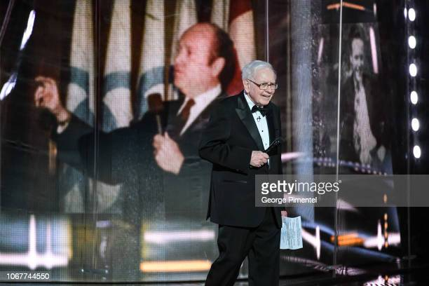 Warren Buffett attends 2018 Canada's Walk Of Fame Awards held at Sony Centre for the Performing Arts on December 1, 2018 in Toronto, Canada.