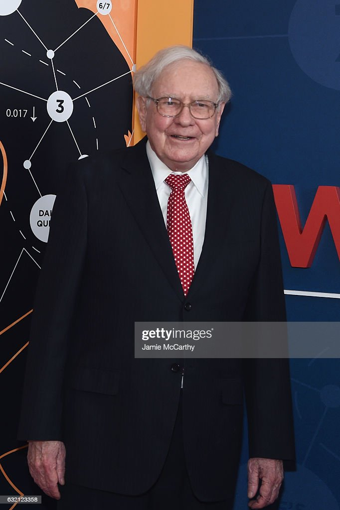 Warren Buffett attends the 'Becoming Warren Buffett' World Premiere at The Museum of Modern Art on January 19, 2017 in New York City.