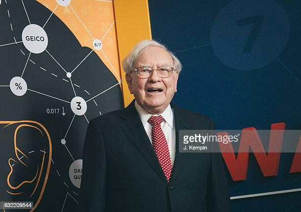 """Warren Buffett attends the """"Becoming Warren Buffett"""" World Premiere at The Museum of Modern Art on January 19, 2017 in New York City."""