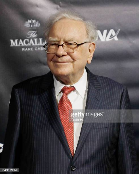 Warren Buffett attends the Forbes Media Centennial Celebration at Pier 60 on September 19, 2017 in New York City.