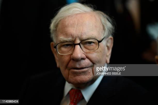 Warren Buffett, CEO of Berkshire Hathaway, attends the 2019 annual shareholders meeting in Omaha, Nebraska, May 3, 2019.