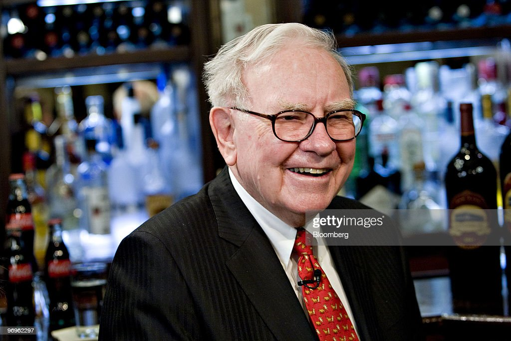 Berkshire Hathaway Chairman Warren Buffett Interview : ニュース写真