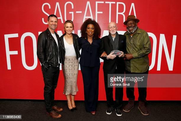 Warren Christie Michaela McManus Lorraine Toussaint Dominic Chianese Frankie Faison and Chris Harnick attend the SAGAFTRA Foundation Conversations...