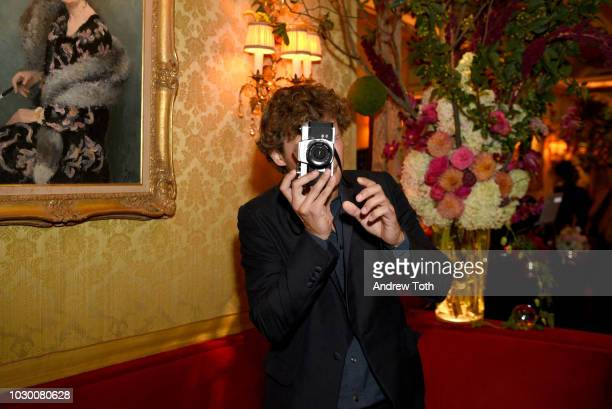 Warren Elgort attends Town Country 2018 New Modern Swans Celebration with Michael Kors Catherine ZetaJones and Carys Douglas on September 9 2018 in...