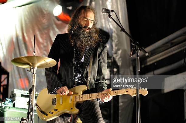 Warren Ellis of Grinderman performs on stage at the Melbourne Big Day out at Flemington racetrack on Sunday 30th January 2011 in Melbourne Australia