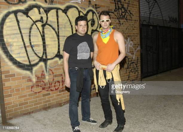 Warren Fischer and Casey Spooner of Fischerspooner