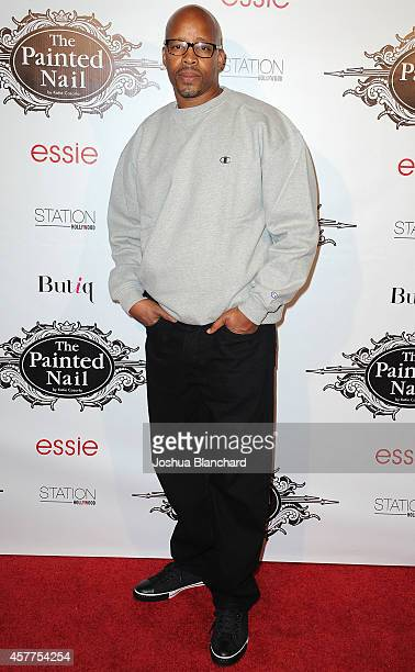 Warren G aarives at The Painted Nail Flagship Store Launch at the W Hollywood on October 23 2014 in Hollywood California