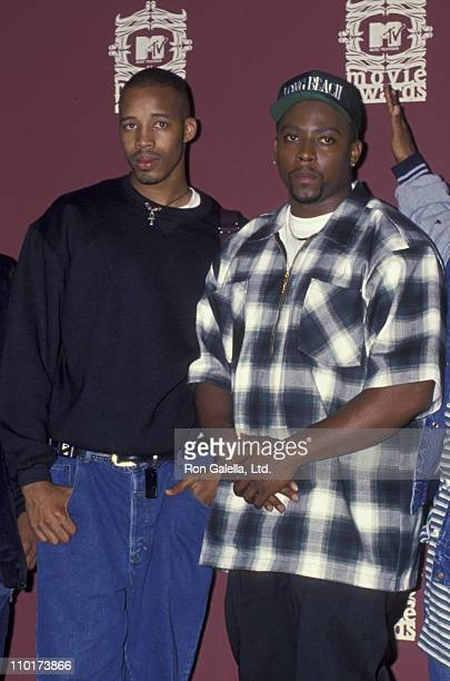 Warren G and Nate Dogg attend Third Annual MTV Movie Awards on June 6, 1994 at Sony Studios in Culver City, California.
