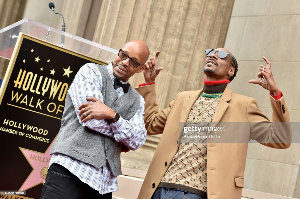 Snoop Dogg Honored With Star On The Hollywood Walk Of Fame : News Photo