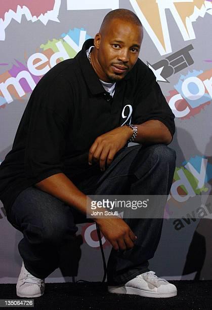 Warren G during 2004 BET Comedy Awards Pressroom at Pasadena Civic Auditorium in Pasadena California United States