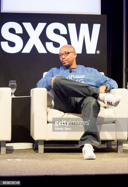Warren G speaks onstage at GFunk during 2017 SXSW Conference and Festivals at Austin Convention Center on March 15 2017 in Austin Texas