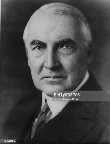 Warren Gamaliel Harding 29th President of the United States of America 19211923 On 2 August 1923 suddenly he died while in the middle of a...