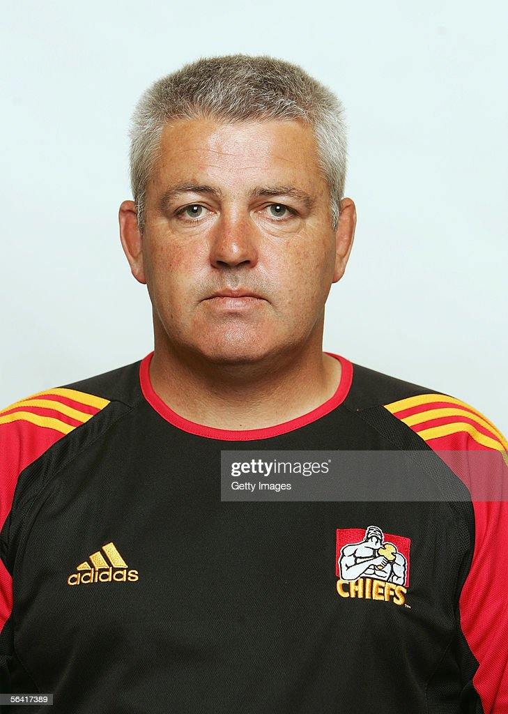 Warren Gatland, Advisor at the Waikato Chiefs, poses during a team portrait session December 12, 2005 in Hamilton, New Zealand.