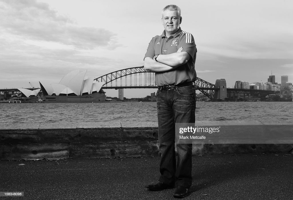 Warren Gatland, Head Coach of The British & Irish Lions, visits Sydney with HSBC, Principal Partner of The British & Irish Lions at Mrs Macquarie's Chair on December 14, 2012 in Sydney, Australia.