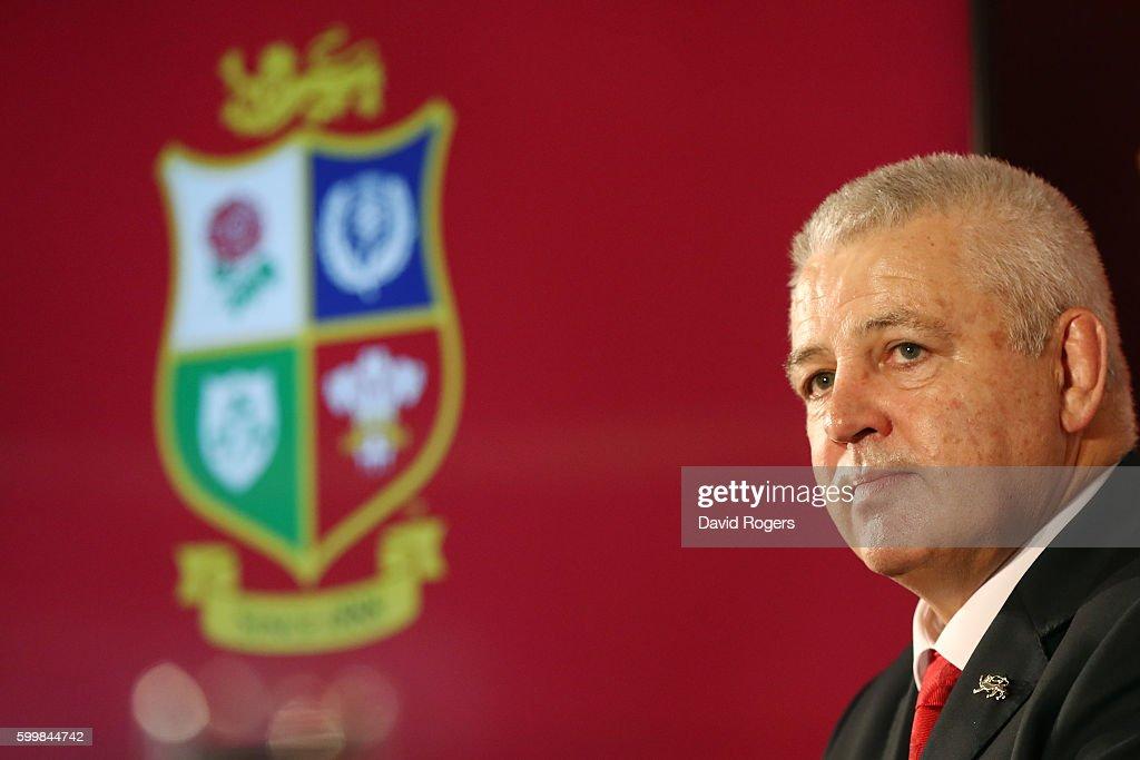 British and Irish Lions Press Conference : News Photo