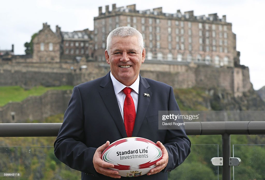Warren Gatland is announced as the Head Coach of the British & Irish Lions for the 2017 Tour to New Zealand during the British and Irish Lions Press Conference at Standard Life House on September 7, 2016 in Edinburgh, Scotland.